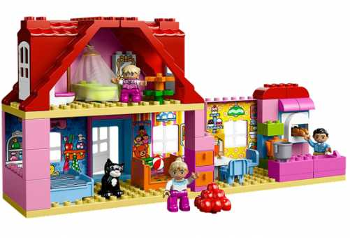 Конструктор LEGO Duplo 10505 Кукольный домик