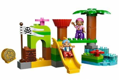 Конструктор LEGO Duplo 10513 Штаб пиратов Нетландии