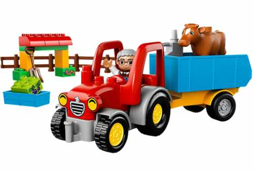 Конструктор LEGO Duplo 10524 Сельскохозяйственный трактор