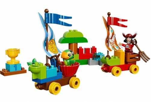 Конструктор LEGO Duplo 10539 Пляжные гонки Джейка