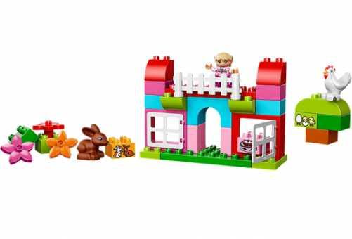 Конструктор LEGO Duplo 10571 Курочка и кролик