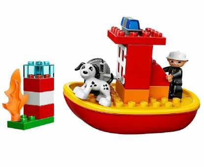 Конструктор LEGO Duplo 10591 Пожарный катер
