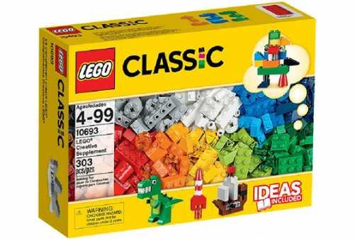 10693 - LEGO Classic Дополнение к набору для творчества – яркие цвета