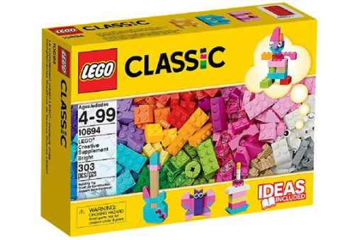 10694 - LEGO Classic Дополнение к набору для творчества – пастельные цвета