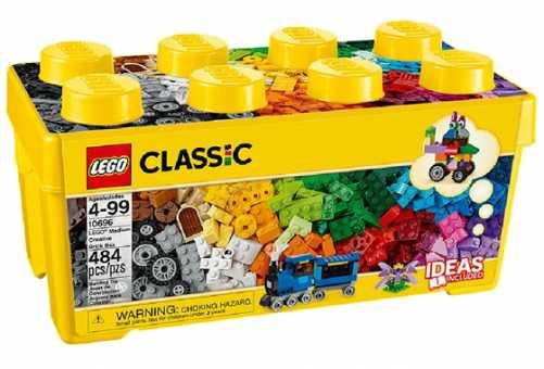 10696 - LEGO Classic Набор для творчества среднего размера