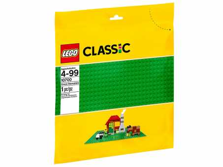 10700 - LEGO Classic Строительная пластина зеленого цвета