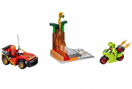 Конструктор LEGO Juniors 10722 Схватка со змеями