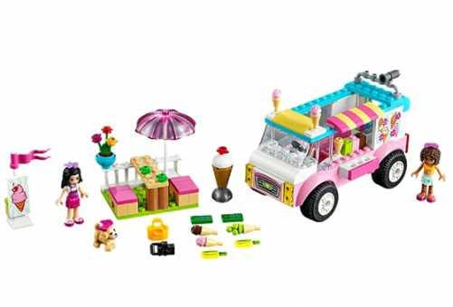 Конструктор LEGO Juniors 10727 Эмма и тележка с мороженым