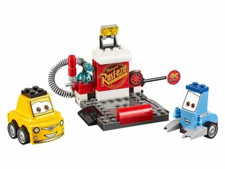 Конструктор LEGO Juniors 10732 Пит-стоп Гвидо и Луиджи