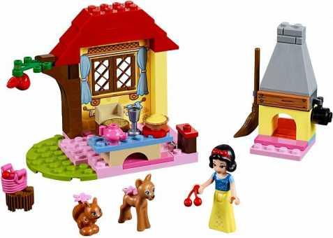 Конструктор LEGO Juniors 10738 Лесной домик Белоснежки