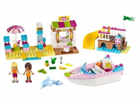 Конструктор LEGO Juniors 10747 Отпуск на пляже с Андреа и Стефани