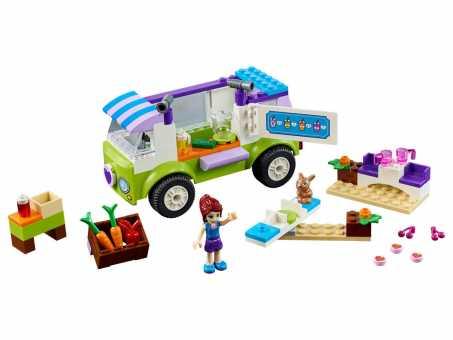 Конструктор LEGO Juniors 10749 Фургончик Мии по продаже натуральных продуктов