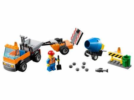 Конструктор LEGO Juniors 10750 Ремонт дороги