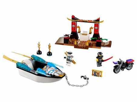 Конструктор LEGO Juniors 10755 Преследование на лодке Зейна