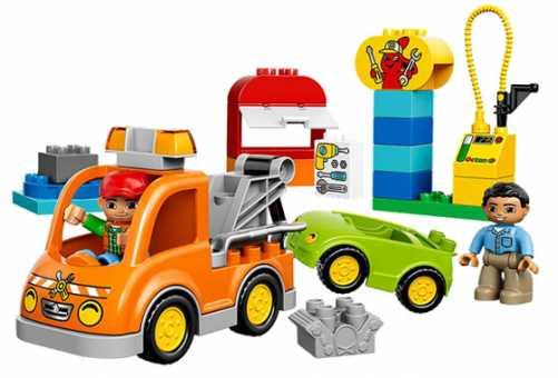 Конструктор LEGO Duplo 10814 Эвакуатор