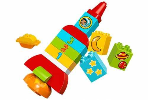 Конструктор LEGO Duplo 10815 Моя первая ракета