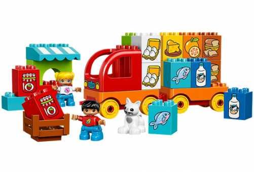 Конструктор LEGO Duplo 10818 Мой первый грузовик