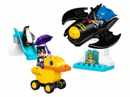 Конструктор LEGO Duplo 10823 Приключения на Бэтмолёте