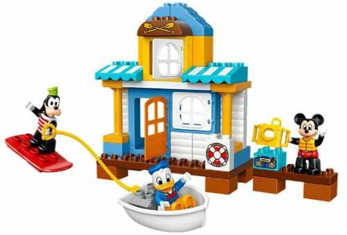 Конструктор LEGO Duplo 10827 Пляжный домик Микки и его друзей