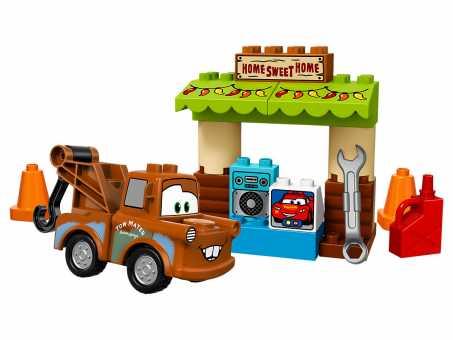 Конструктор LEGO Duplo 10856 Гараж Мэтра