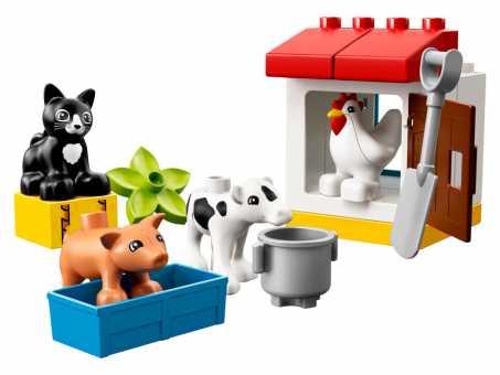 Конструктор LEGO Duplo 10870 Ферма: домашние животные