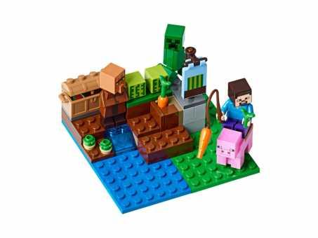 Конструктор LEGO Minecraft 21138 Арбузная ферма