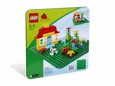Конструктор LEGO Duplo 2304 Зеленая плата