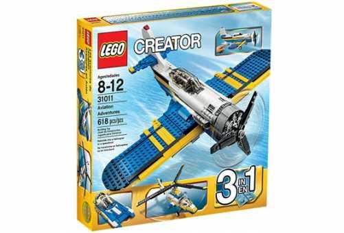 Конструктор LEGO Creator 31011 Авиационные приключения
