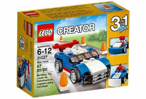 Конструктор LEGO Creator 31027 Синий гонщик