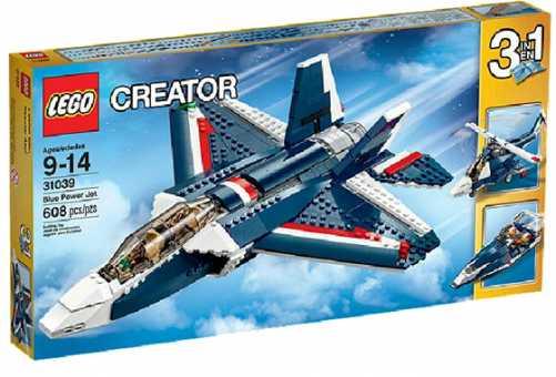 Конструктор LEGO Creator 31039 Синий реактивный самолет