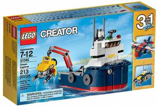 Конструктор LEGO Creator 31045 Океанское исследовательское судно