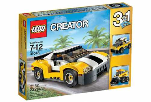 Конструктор LEGO Creator 31046 Большая скорость