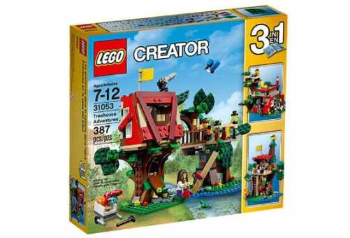 Конструктор LEGO Creator 31053 Приключения в домике на дереве
