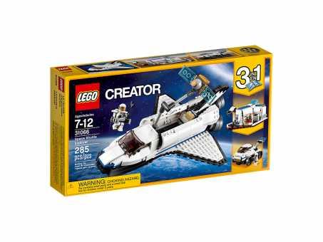 Конструктор LEGO Creator 31066 Исследовательский космический шаттл
