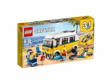 Конструктор LEGO Creator 31079 Фургон сёрферов