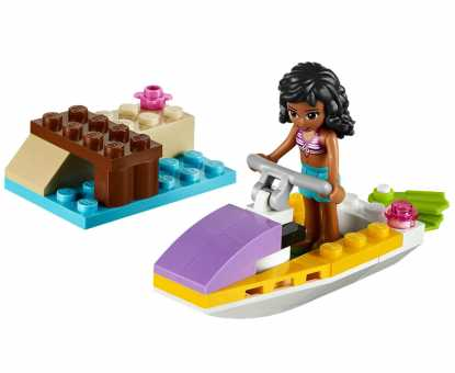 Конструктор LEGO Friends 41000 Водный мотоцикл Эммы