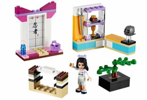 Конструктор LEGO Friends 41002 Эмма – каратистка
