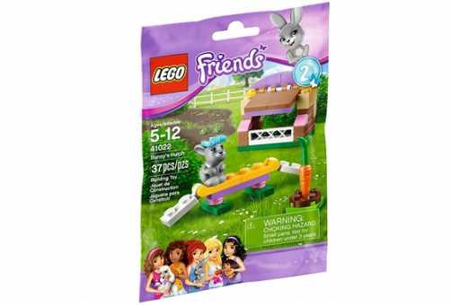 Конструктор LEGO Friends 41022 Домик кролика