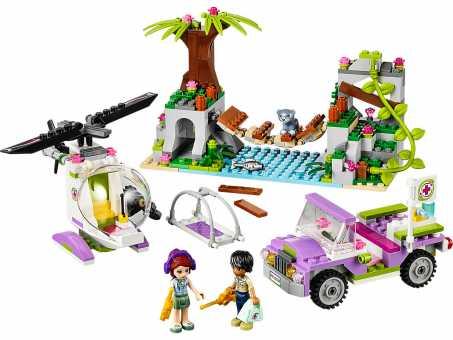 Конструктор LEGO Friends 41036 Спасательная операция на мосту