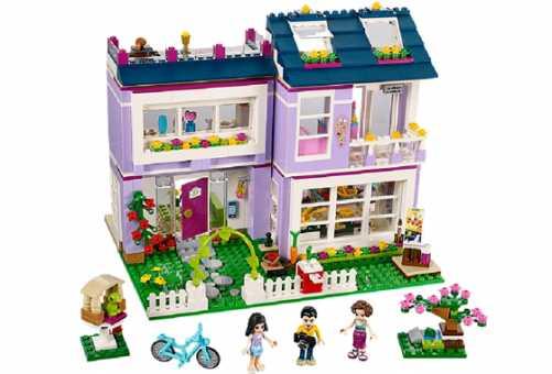 Конструктор LEGO Friends 41095 Дом Эммы