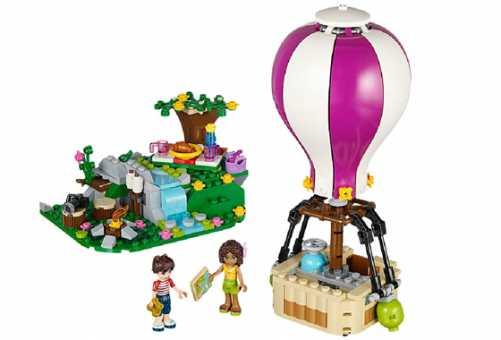 Конструктор LEGO Friends 41097 Воздушный шар Хартлейк Сити
