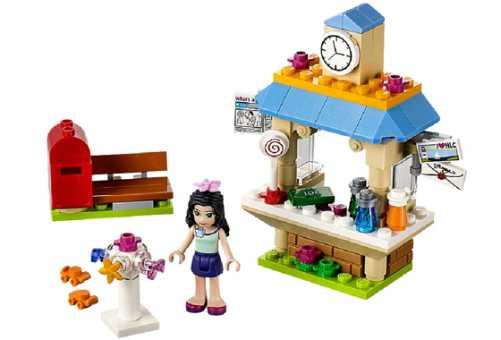 Конструктор LEGO Friends 41098 Информационный киоск Эммы