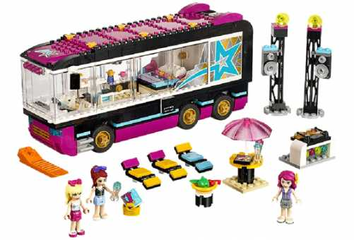 Конструктор LEGO Friends 41106 Автобус для гастролей