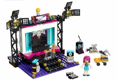 Конструктор LEGO Friends 41117 Телестудия поп-звезды