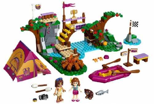 Конструктор LEGO Friends 41121 Сплав по реке в лагере