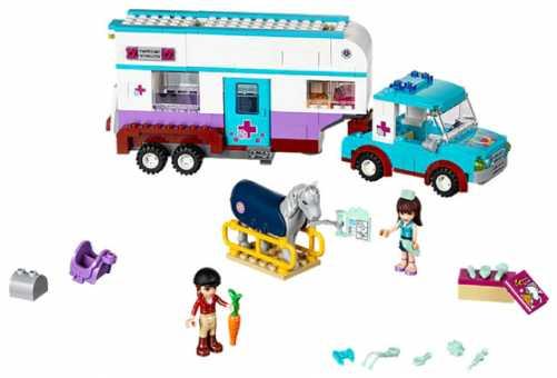 Конструктор LEGO Friends 41125 Ветеринарный трейлер для лошади