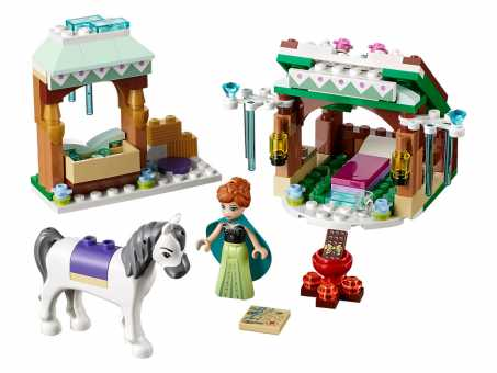 Конструктор LEGO Disney Princess 41147 Снежное приключение Анны