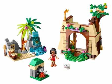 Конструктор LEGO Disney Princess 41149 Остров приключений Моаны