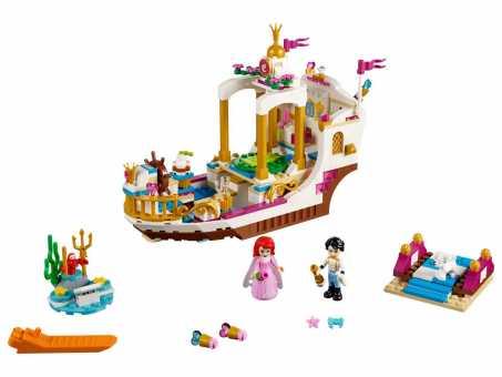 Конструктор LEGO Disney Princess 41153 Королевский корабль Ариэль