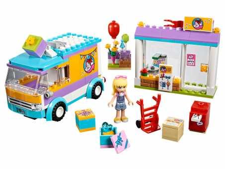 Конструктор LEGO Friends 41310 Служба доставки подарков Хартлейка